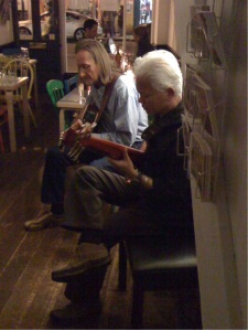 10240 Branco Stoysin Duo, Peter de Wit's Cafe, Greenwich 24 Oct 09